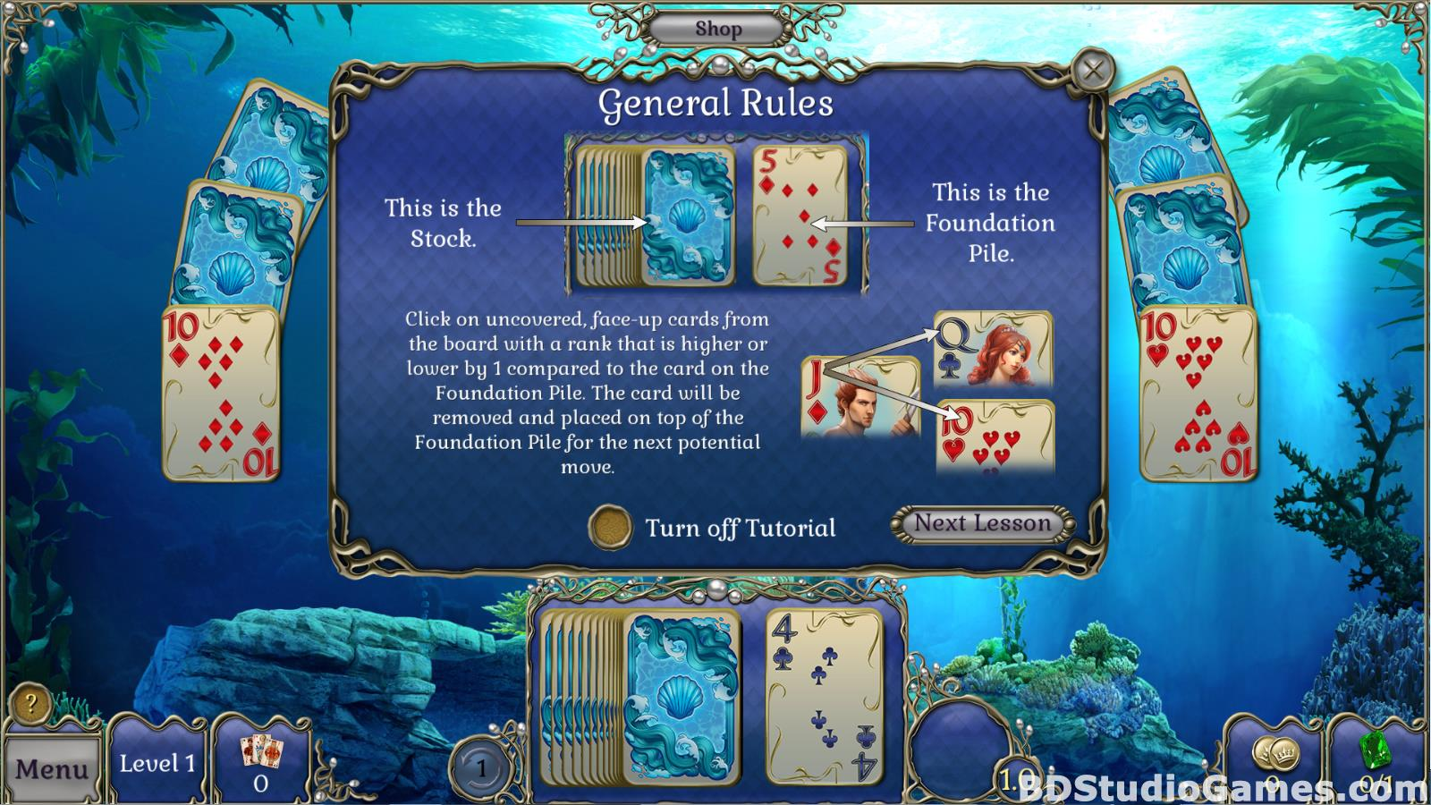 Jewel Match Atlantis Solitaire Free Download Screenshots 03