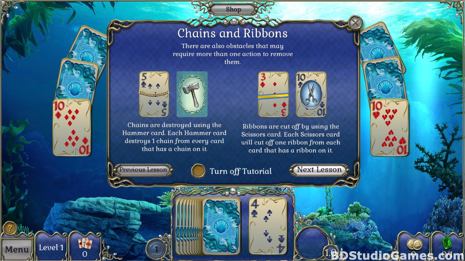 Jewel Match Atlantis Solitaire Free Download Screenshots 05