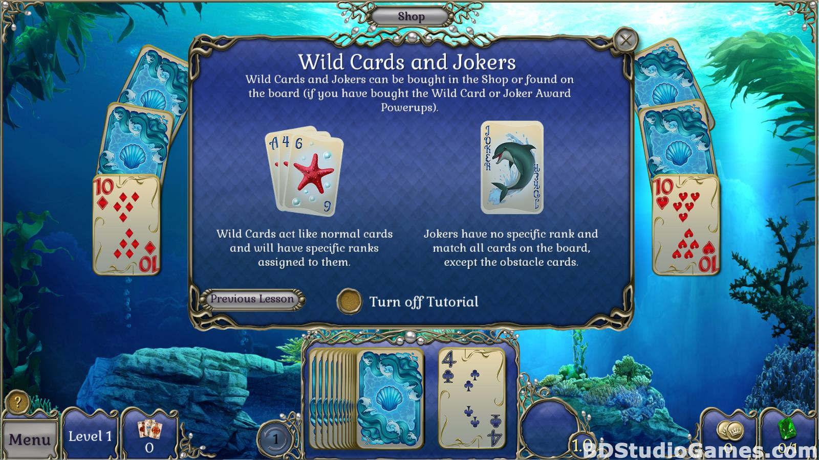 Jewel Match Atlantis Solitaire Free Download Screenshots 06
