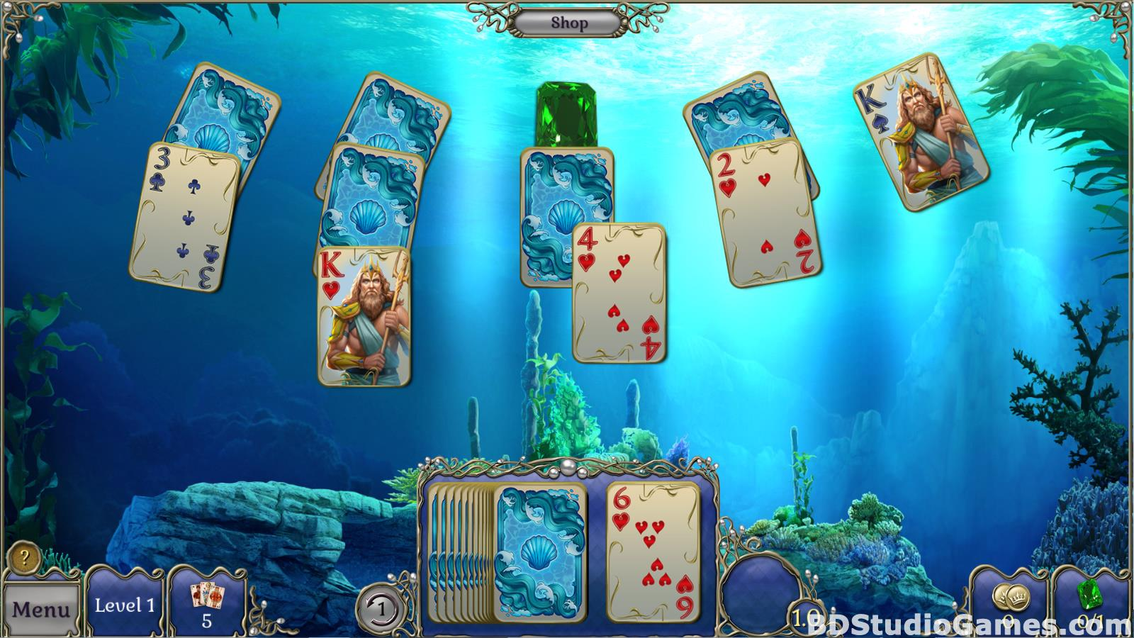 Jewel Match Atlantis Solitaire Free Download Screenshots 07