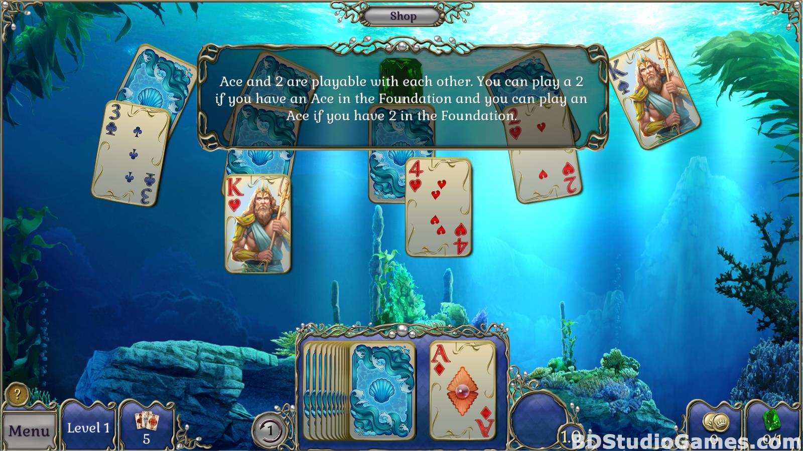 Jewel Match Atlantis Solitaire Free Download Screenshots 08