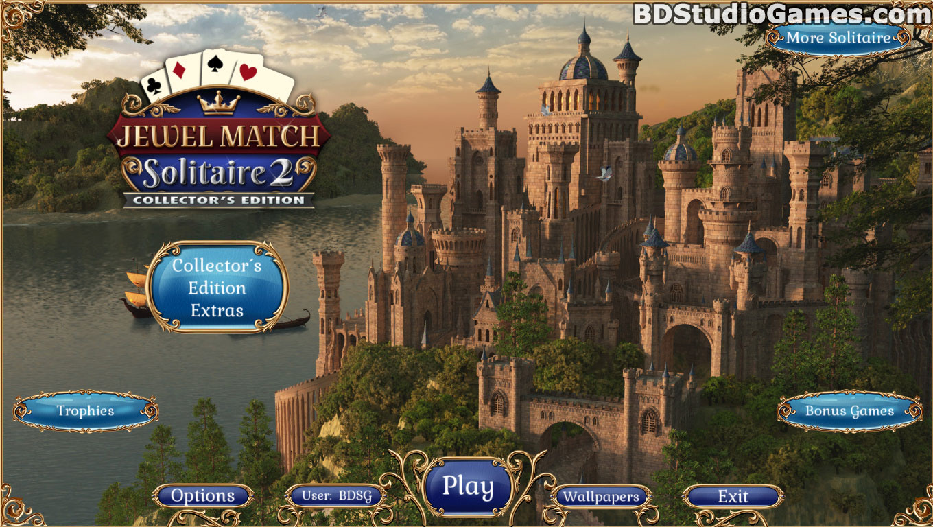 Jewel Match: Solitaire 2 Collector's Edition Free Download Screenshots 1
