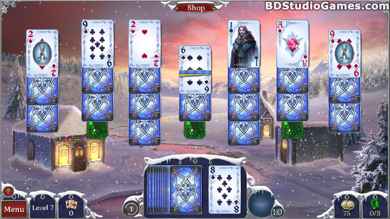 Jewel Match Solitaire: Winterscapes Game Download Screenshots 12