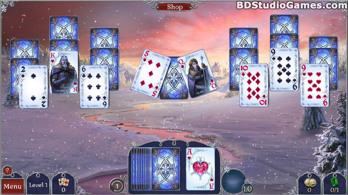Jewel Match Solitaire: Winterscapes Game Download Screenshots 2