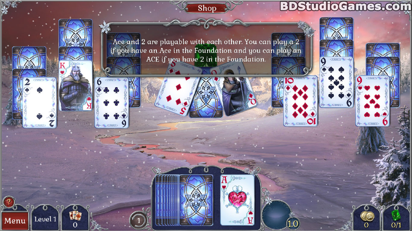Jewel Match Solitaire: Winterscapes Game Download Screenshots 4