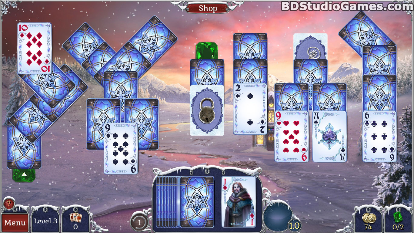 Jewel Match Solitaire: Winterscapes Game Download Screenshots 7
