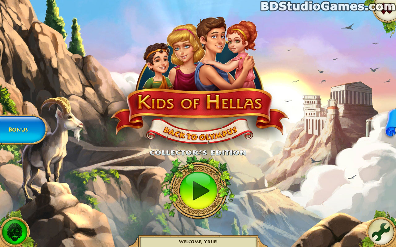 Kids of Hellas: Back to Olympus Collector's Edition Free Download Screenshots 1