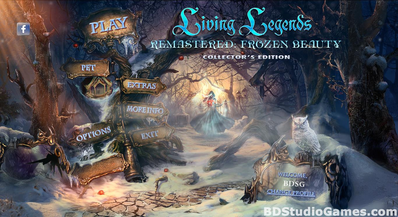 Living Legends Remastered: Frozen Beauty Collector's Edition Free Download Screenshots 01