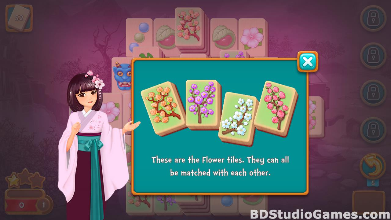 Mahjong Fest: Sakura Garden Free Download Screenshots 14