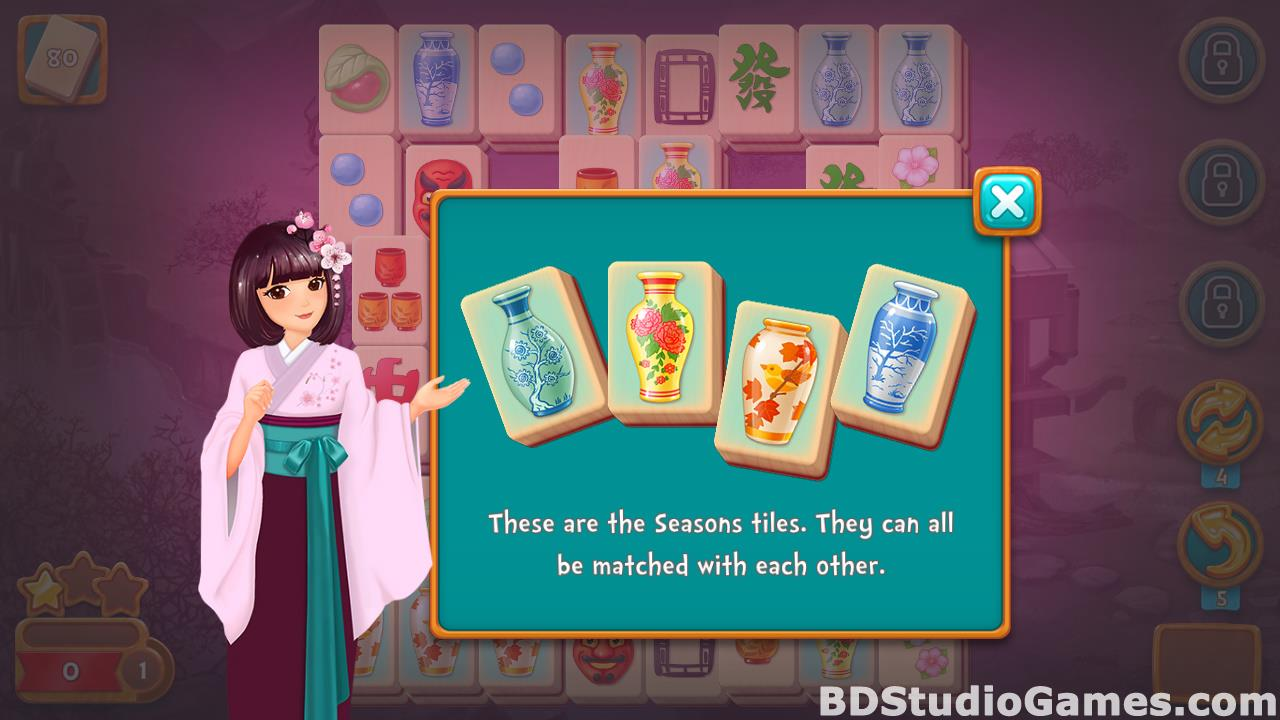 Mahjong Fest: Sakura Garden Free Download Screenshots 16