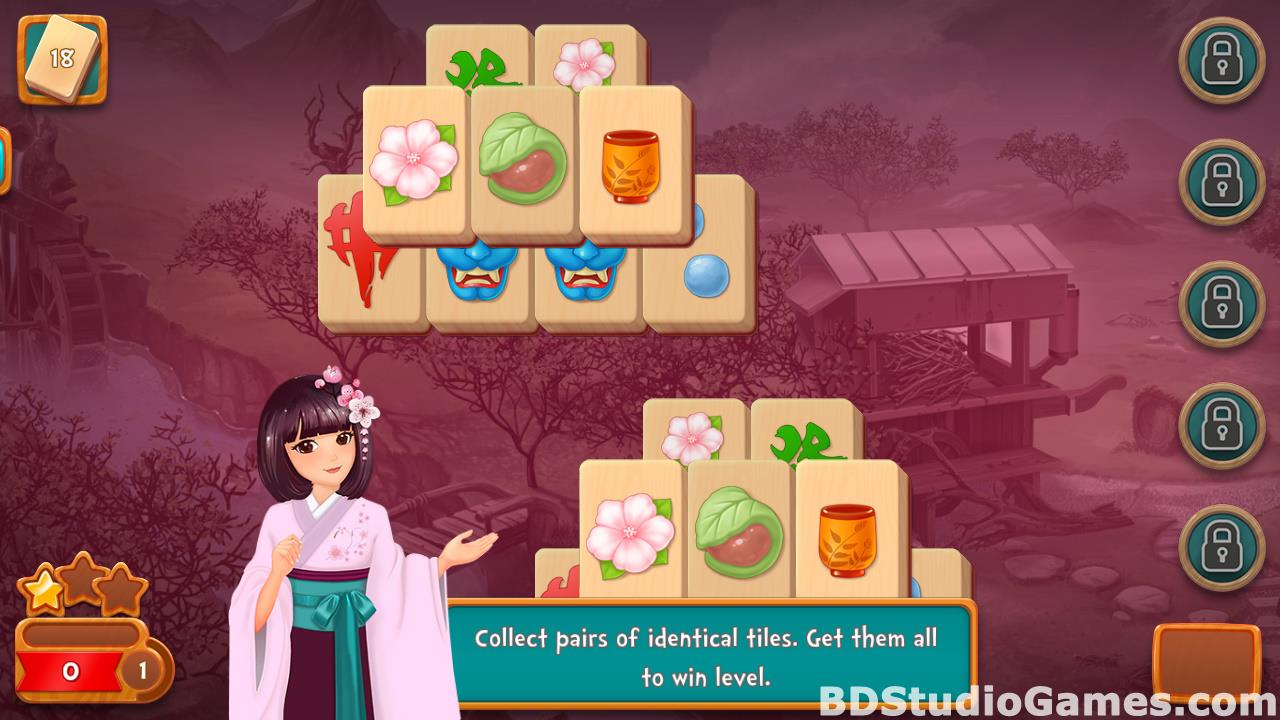 Mahjong Fest: Sakura Garden Free Download Screenshots 02