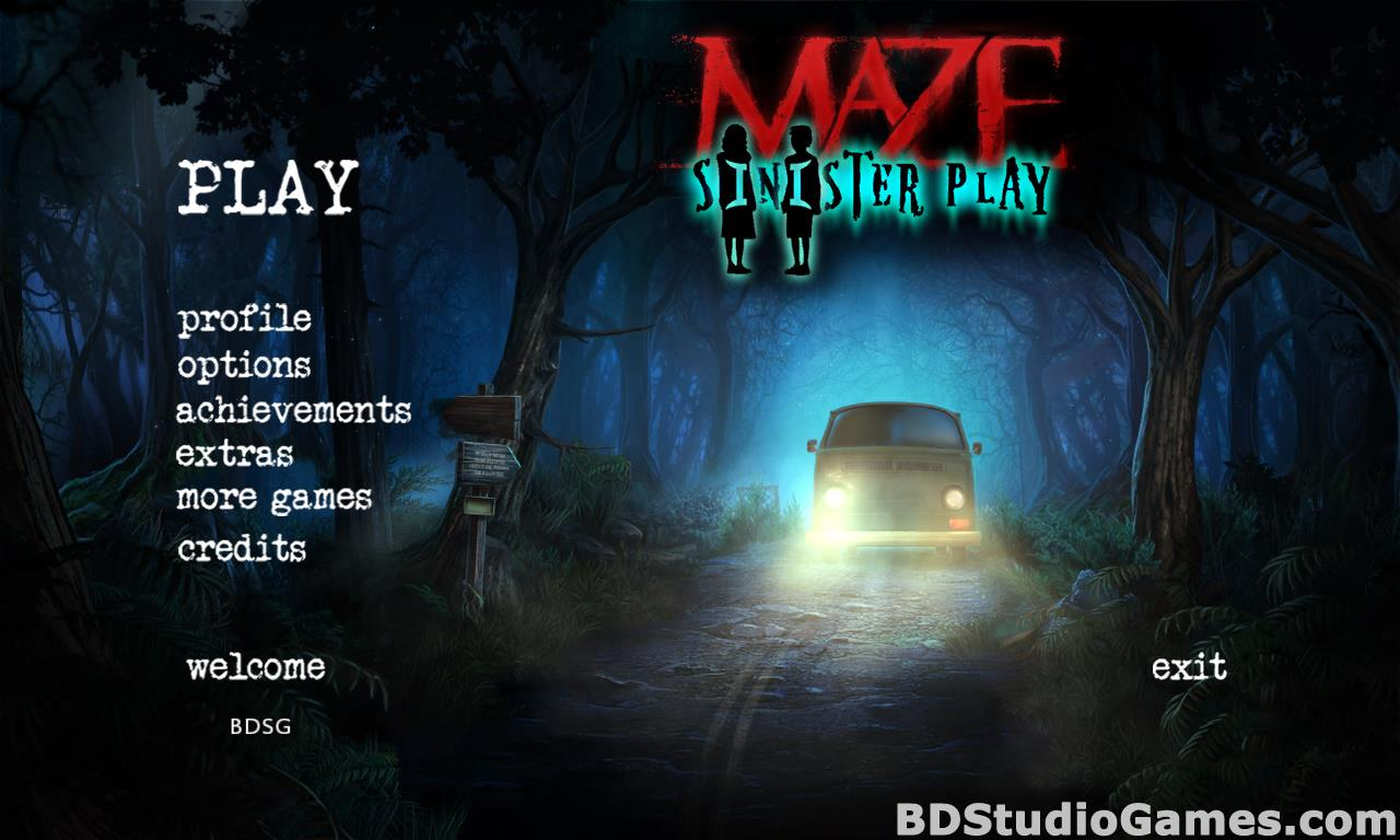Maze: Sinister Play Collector's Edition Free Download Screenshots 01
