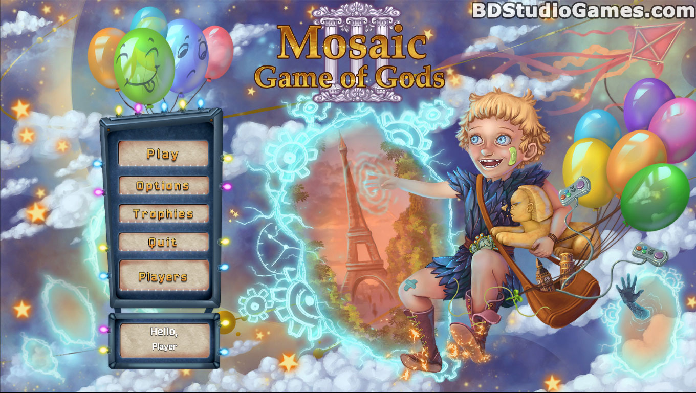 Mosaic: Game of Gods III Free Download Screenshots 1