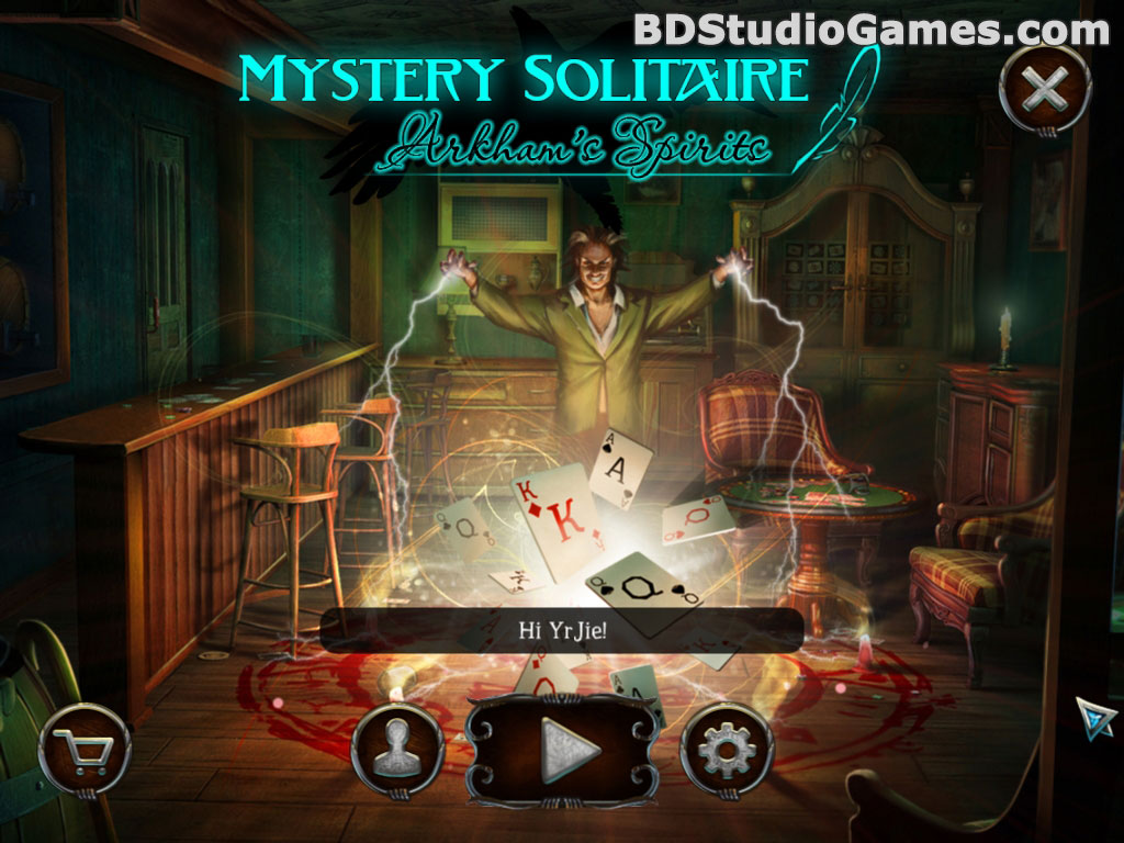 Mystery Solitaire: Arkham's Spirits Free Download Screenshots 1
