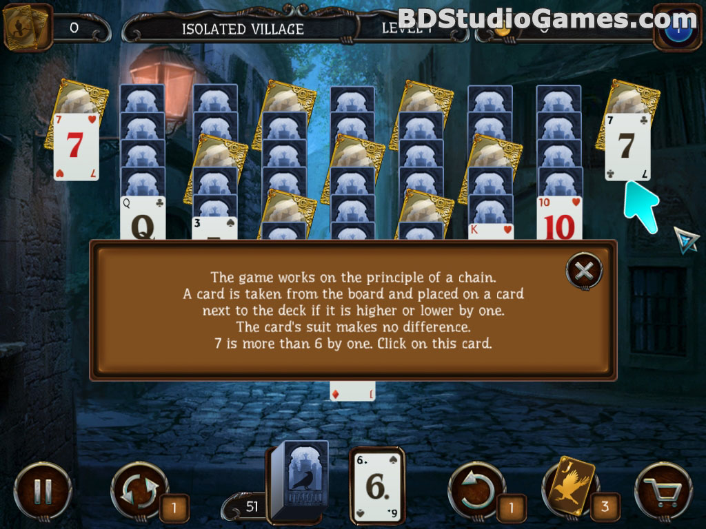 Mystery Solitaire: Arkham's Spirits Free Download Screenshots 2