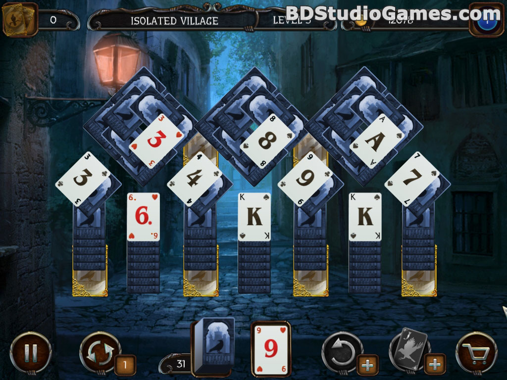 Mystery Solitaire: Arkham's Spirits Free Download Screenshots 4