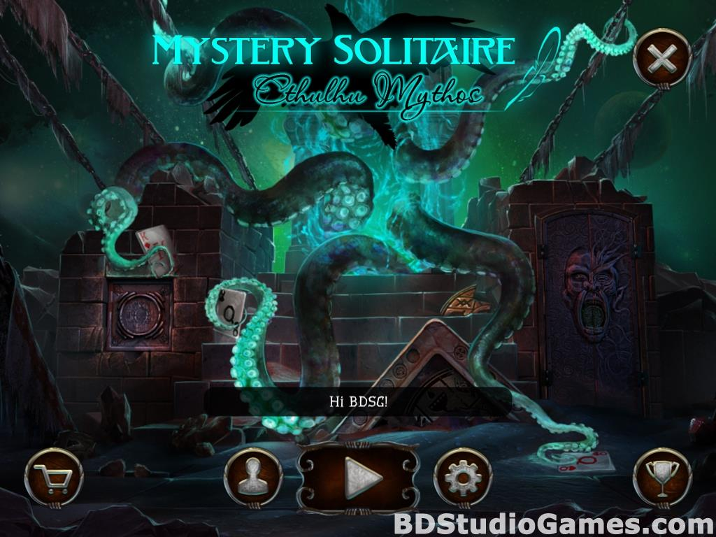 Mystery Solitaire Cthulhu Mythos Free Download Screenshots 01