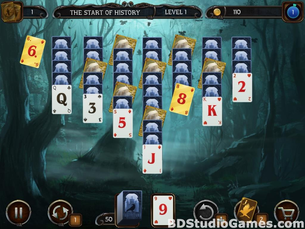 Mystery Solitaire Cthulhu Mythos Free Download Screenshots 11