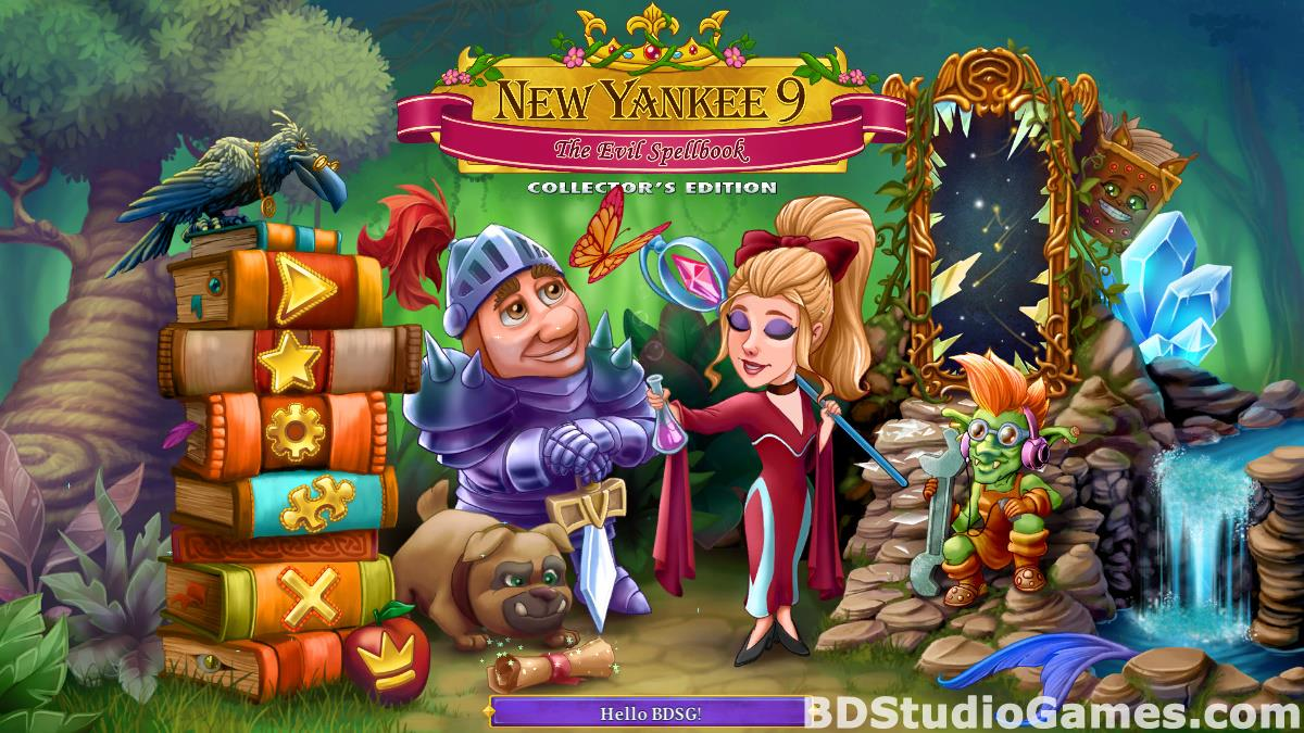 New Yankee 9: The Evil Spellbook Collector's Edition Free Download Screenshots 01