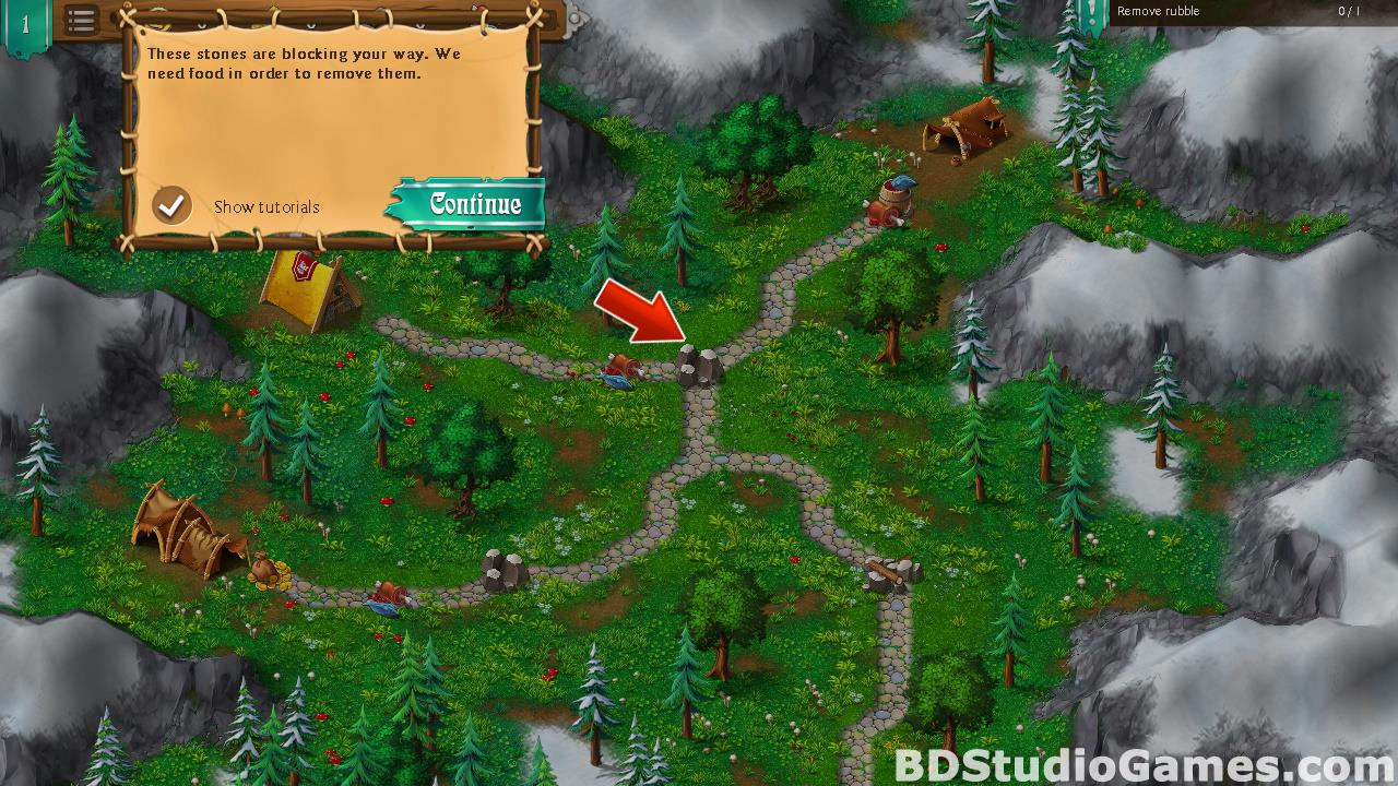 Northland Heroes: The missing druid Free Download Screenshots 10