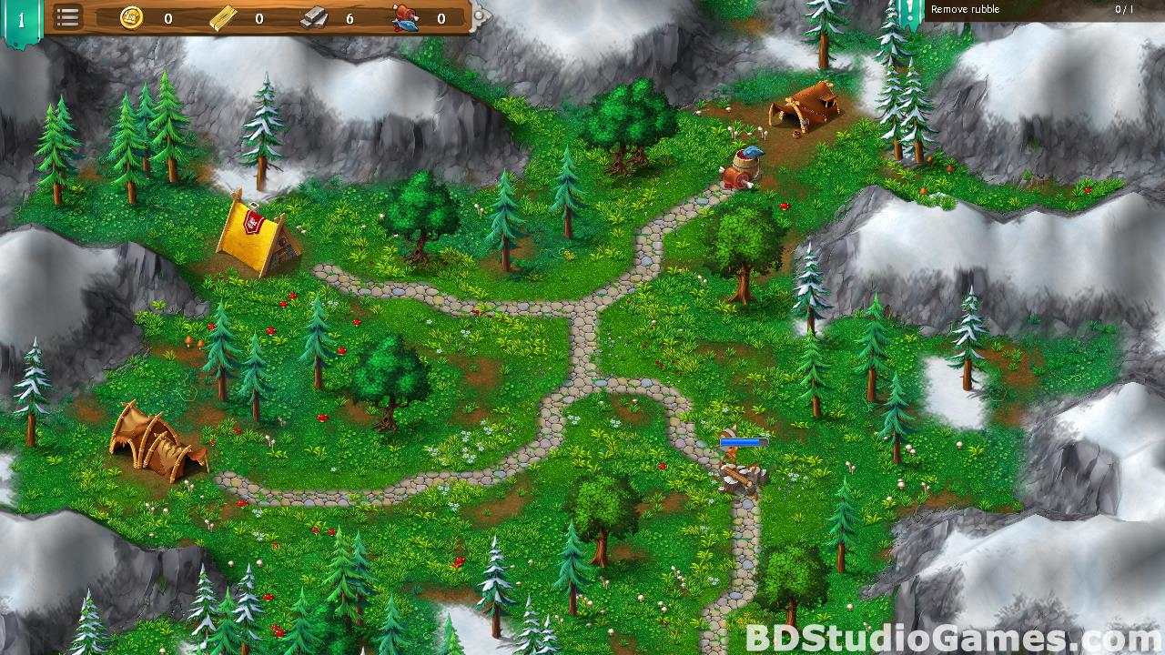 Northland Heroes: The missing druid Free Download Screenshots 12