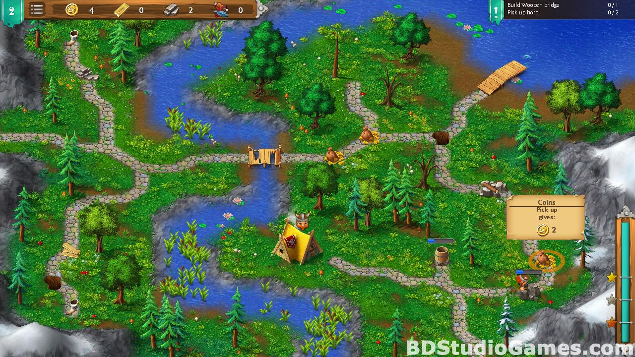 Northland Heroes: The missing druid Free Download Screenshots 15