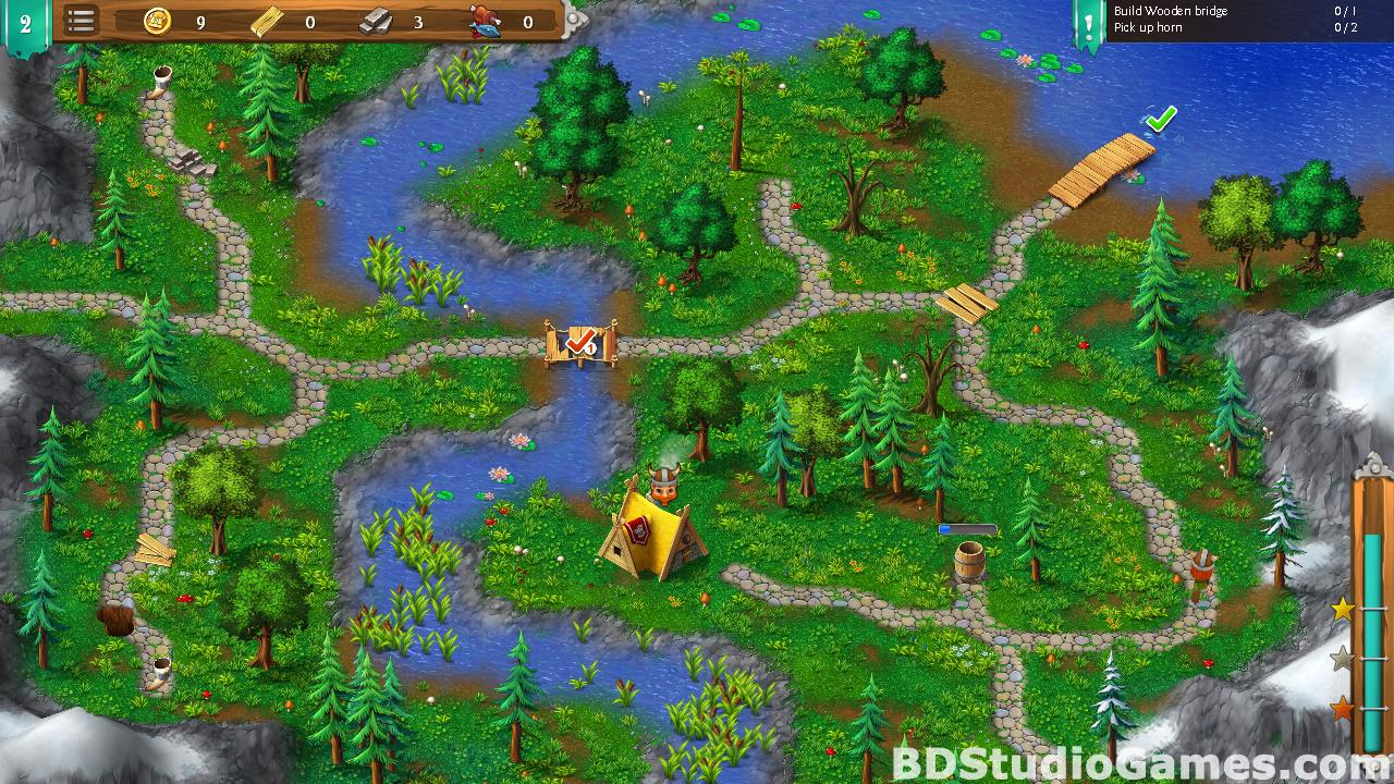 Northland Heroes: The missing druid Free Download Screenshots 16