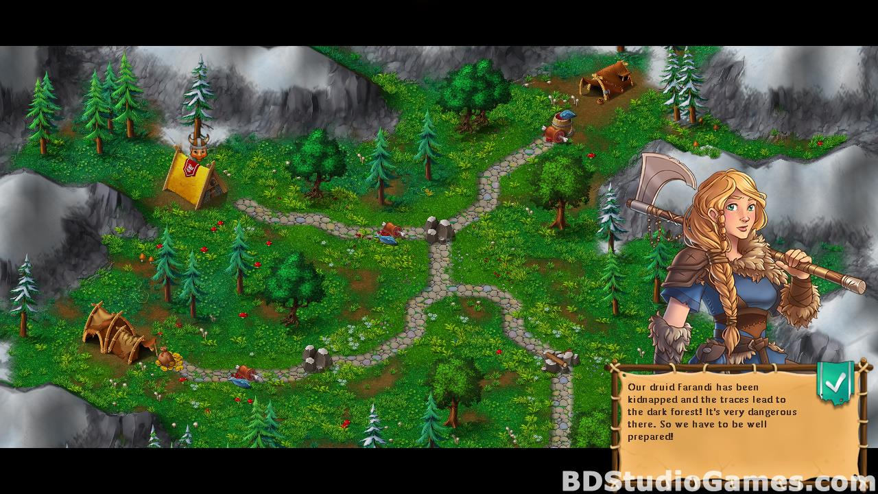 Northland Heroes: The missing druid Free Download Screenshots 09