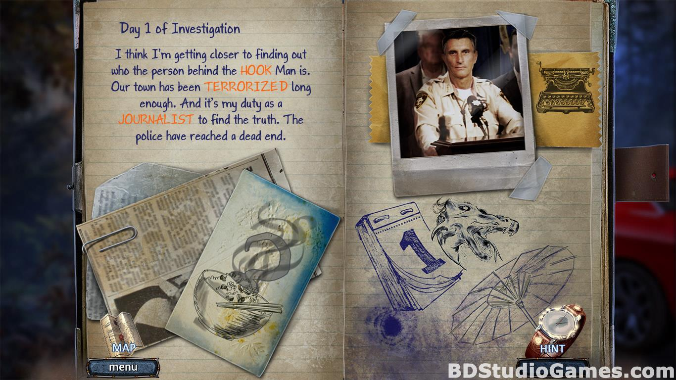 Paranormal Files: Hook Man's Legend Collector's Edition Free Download Screenshots 15