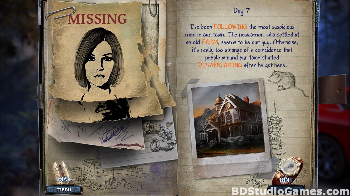 Paranormal Files: Hook Man's Legend Collector's Edition Free Download Screenshots 16