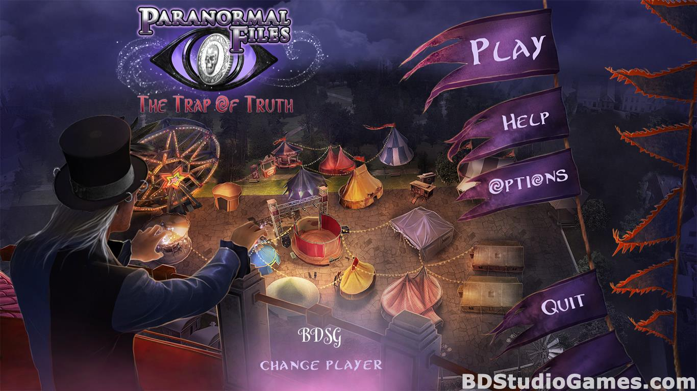 Paranormal Files: The Trap of Truth Collector's Edition Free Download Screenshots 01