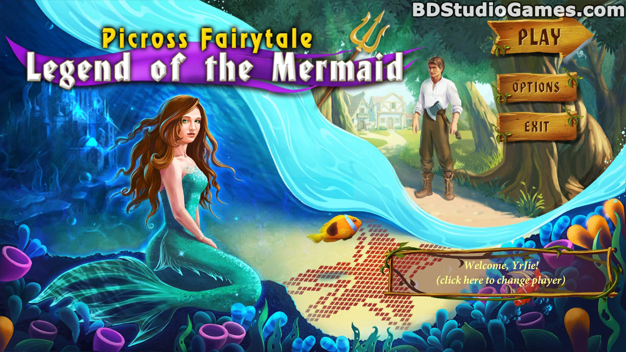 Picross Fairytale: Legend Of The Mermaid Free Download Screenshots 1
