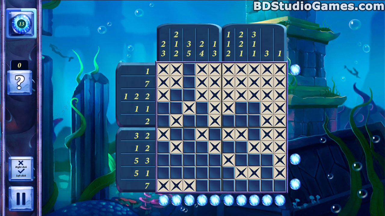 Picross Fairytale: Legend Of The Mermaid Free Download Screenshots 3
