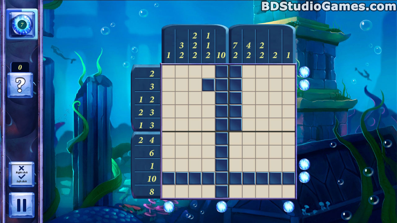 Picross Fairytale: Legend Of The Mermaid Free Download Screenshots 5