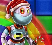 Rainbow Mosaics 10: Christmas Helper Gameplay
