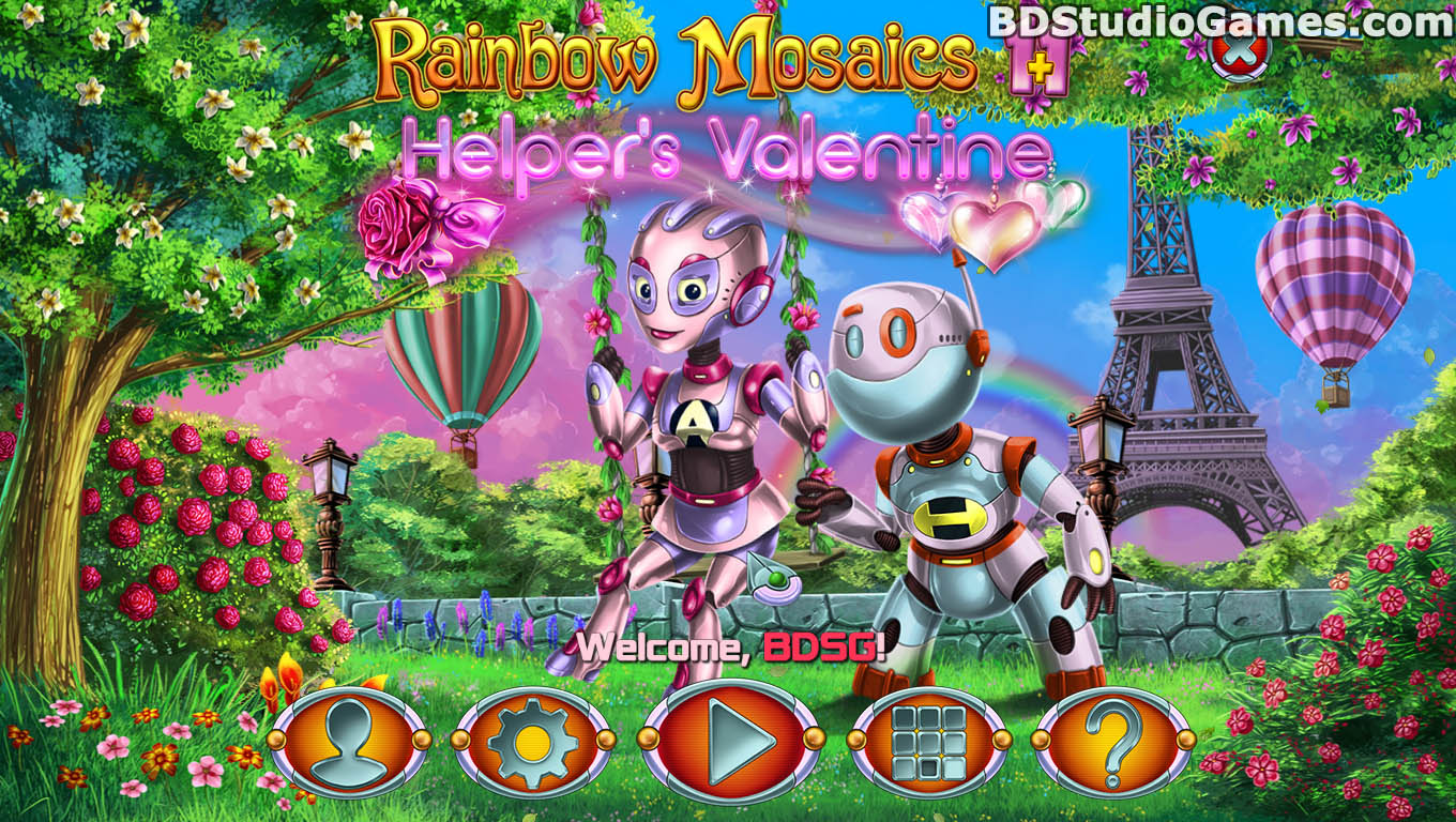 Rainbow Mosaics 11: Helper's Valentine Game Free Download Screenshots 01