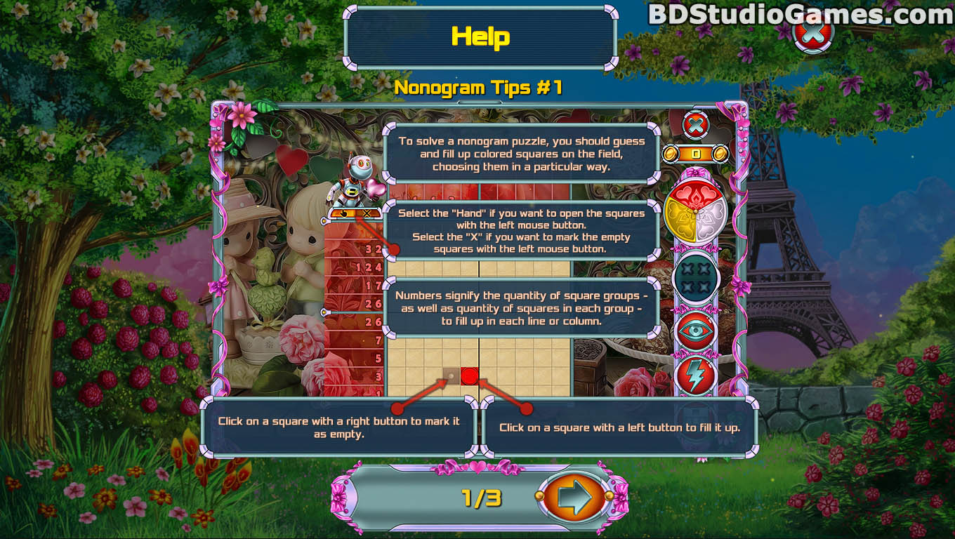 Rainbow Mosaics 11: Helper's Valentine Game Free Download Screenshots 02