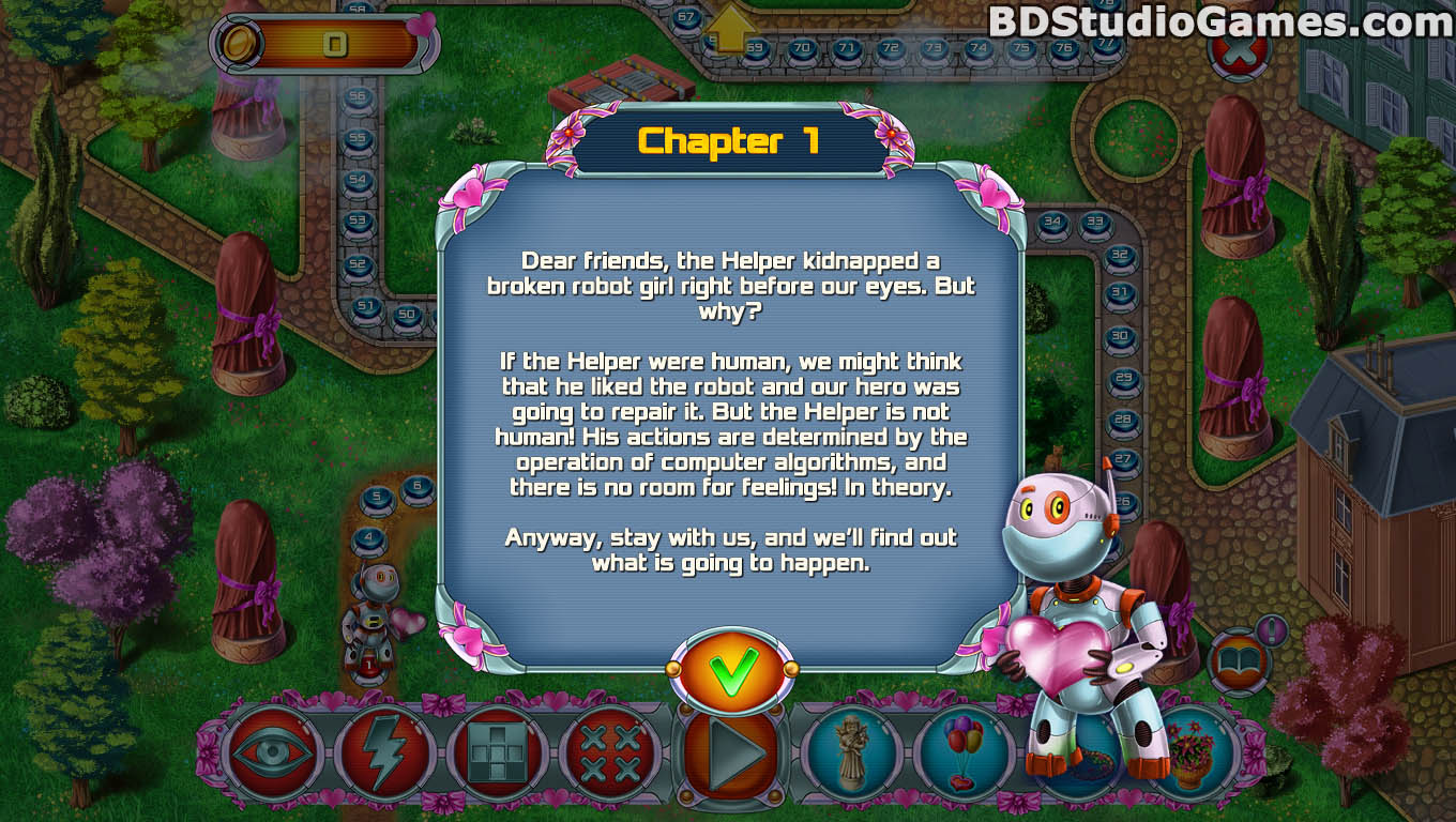 Rainbow Mosaics 11: Helper's Valentine Game Free Download Screenshots 04