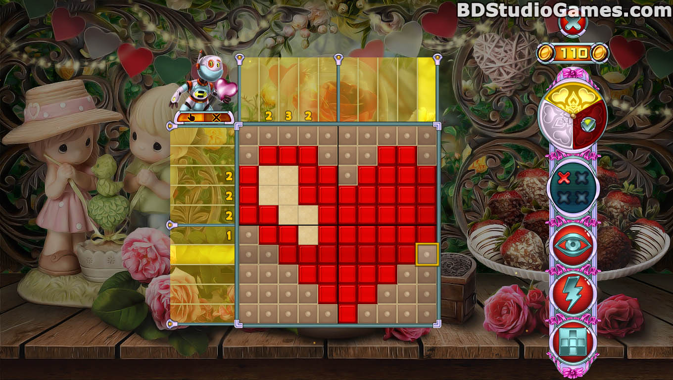 Rainbow Mosaics 11: Helper's Valentine Game Free Download Screenshots 07