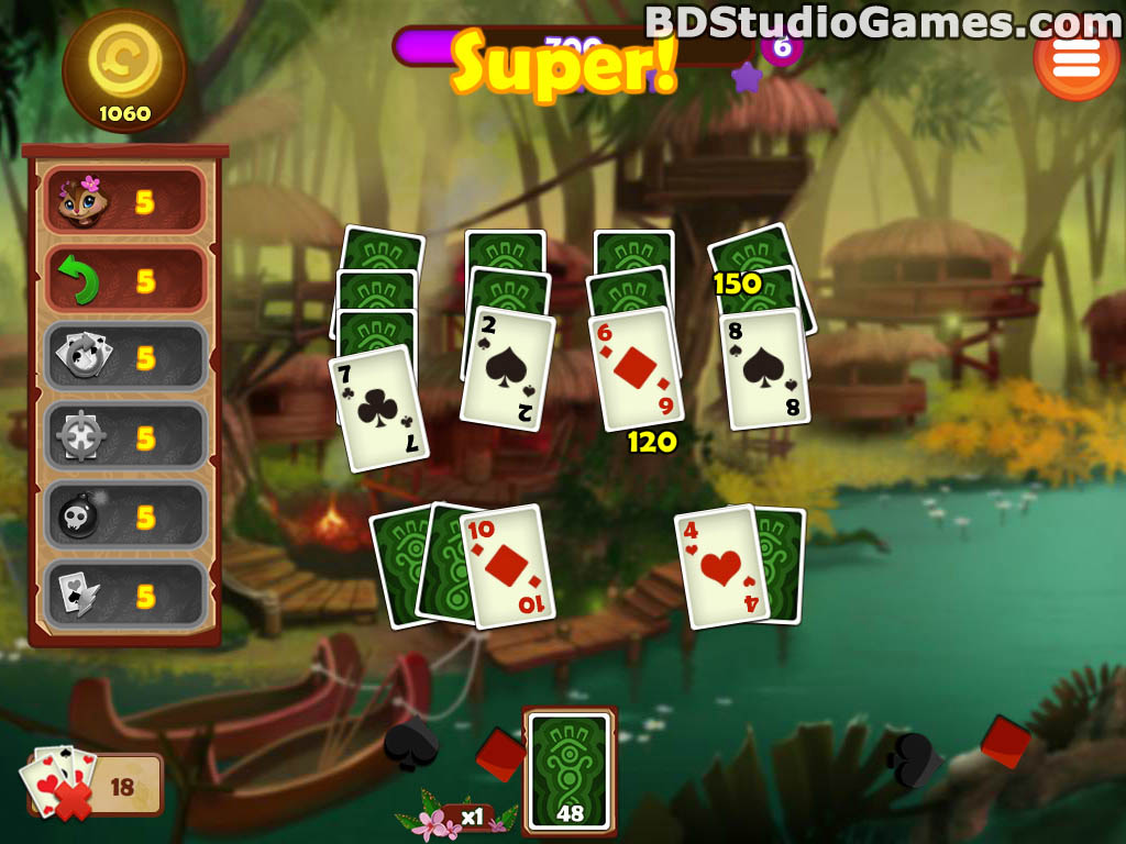 Rainforest Solitaire 2 Trial Version Free Download Full Version Buy Now Screenshots 08