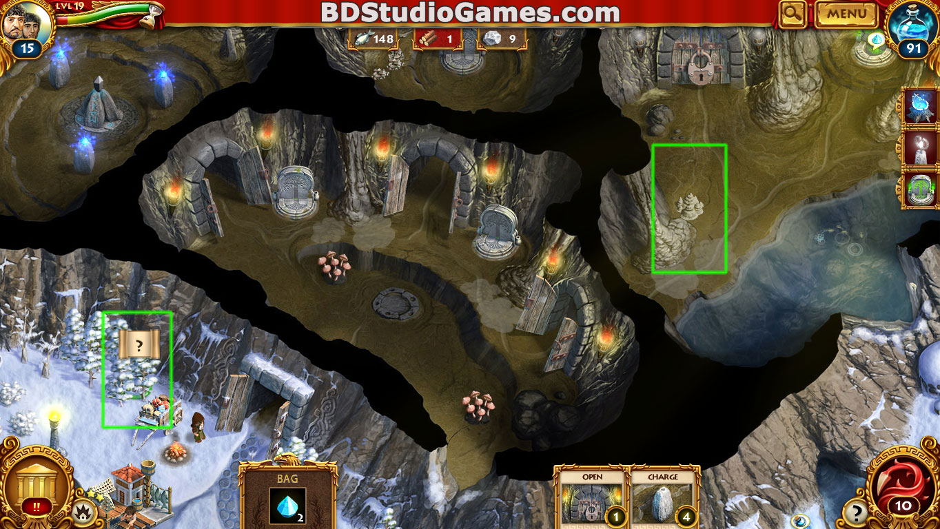 Roman Adventures: Britons Season One Caches Locations Level 19 Screenshots 1