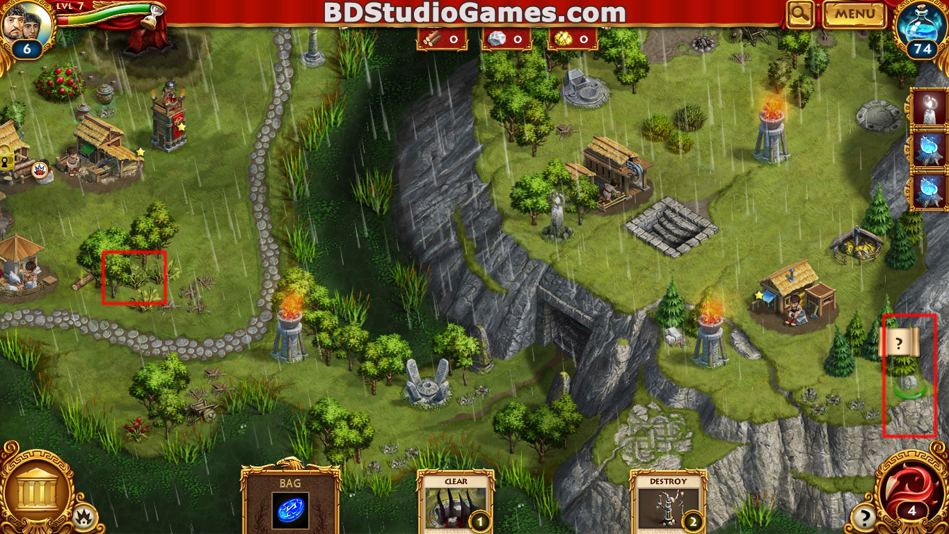 Roman Adventures: Britons Season One Caches Locations Level 7 Screenshots 2