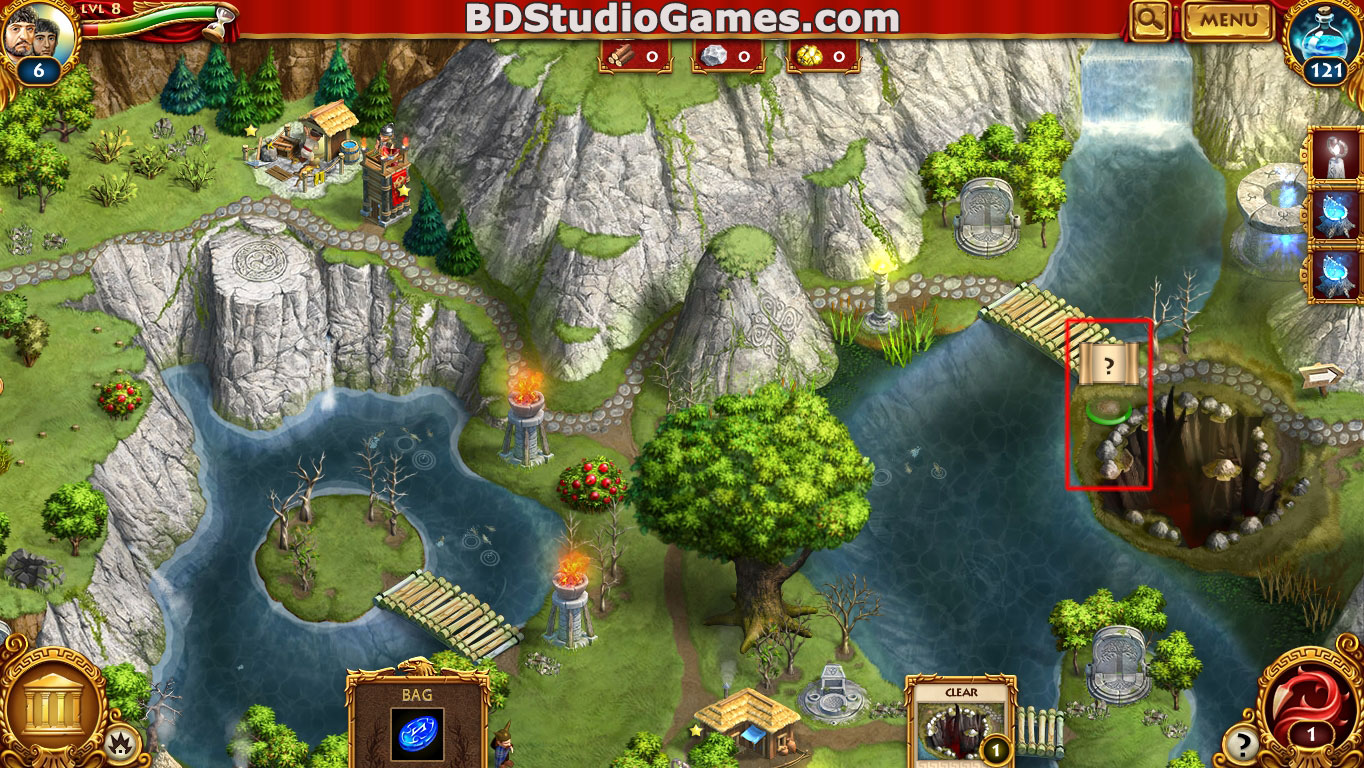 Roman Adventures: Britons Season One Caches Locations Level 9 Screenshots 1