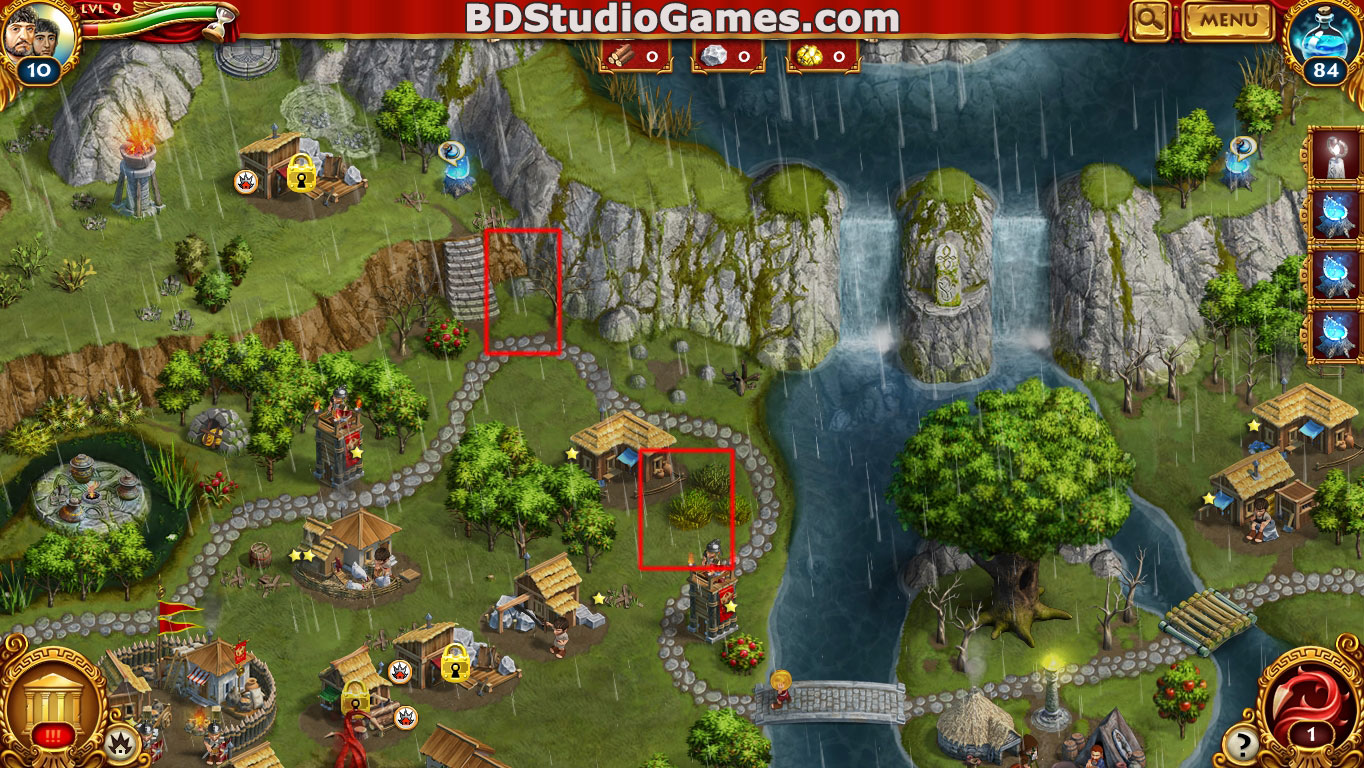 Roman Adventures: Britons Season One Caches Locations Level 9 Screenshots 2