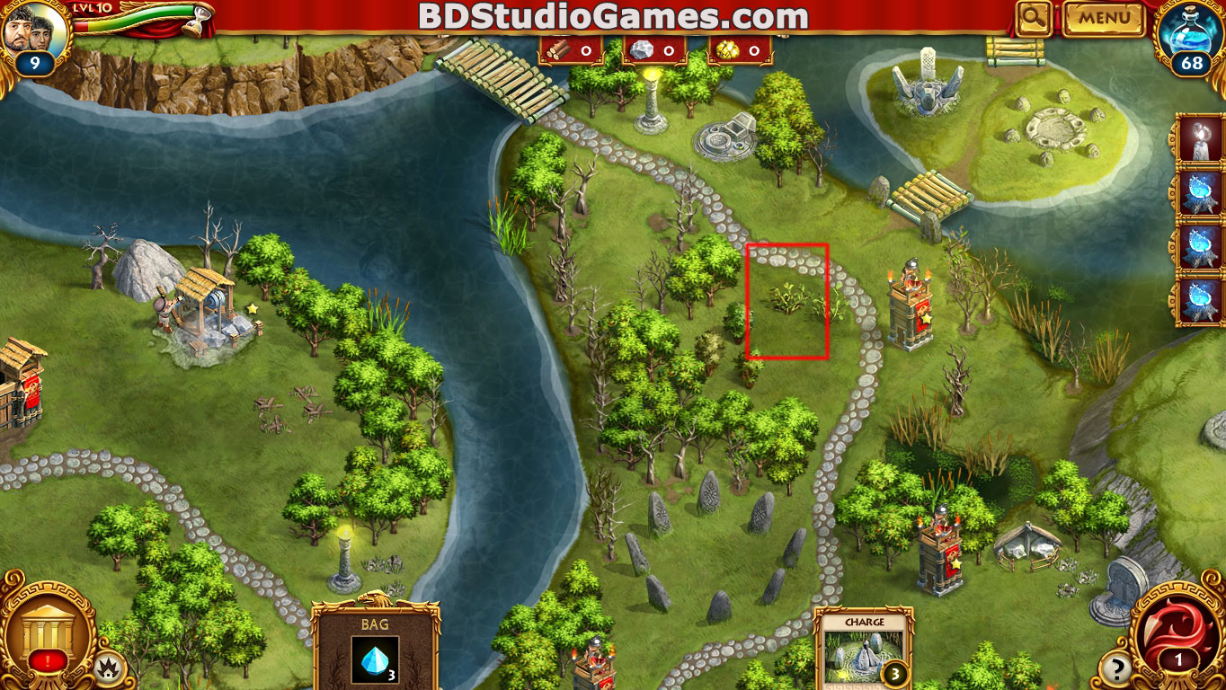 Roman Adventures: Britons Season One Caches Locations Level 11 Screenshots 1