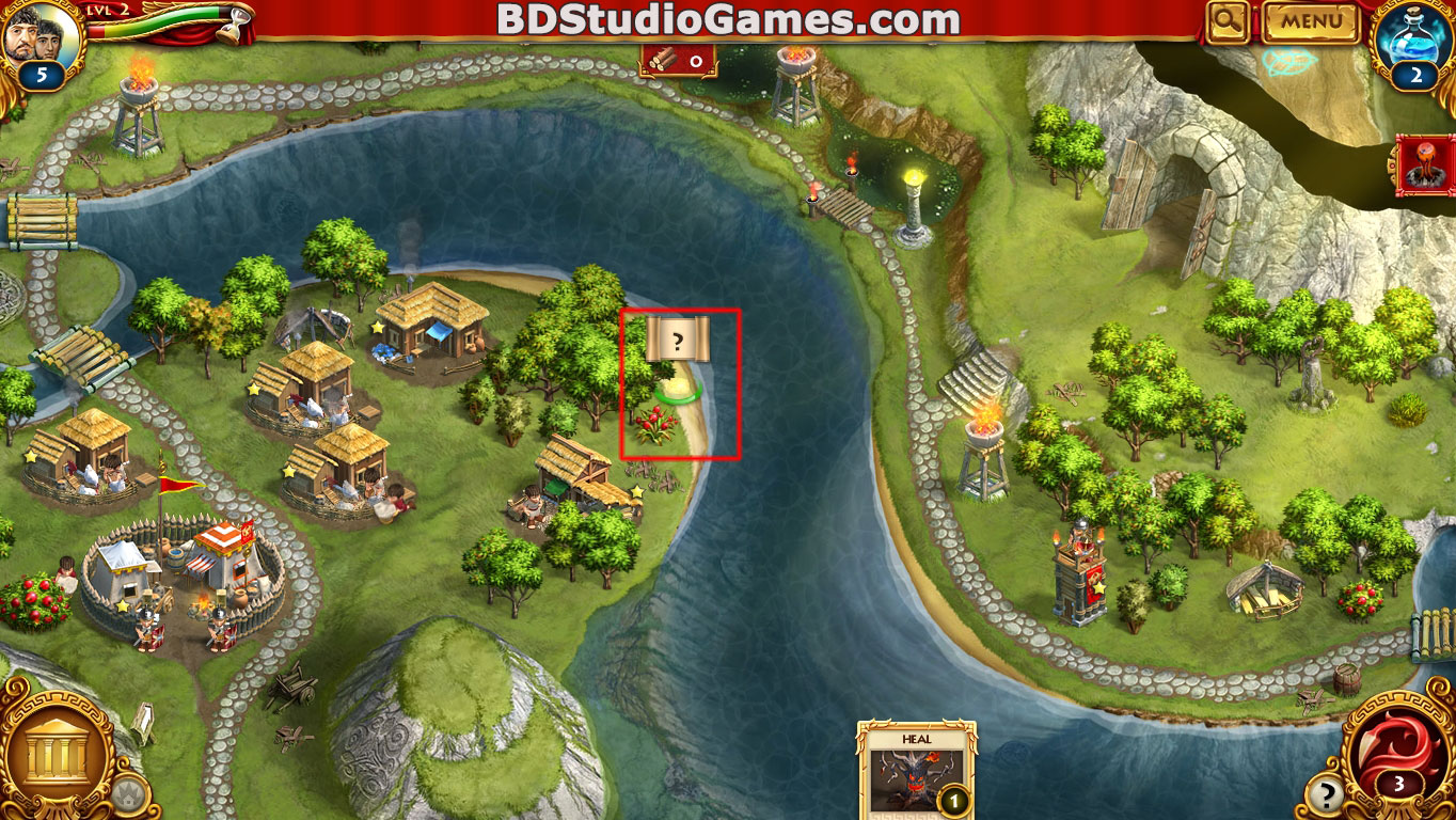 Roman Adventures: Britons Season One Caches Locations Level 2 Screenshots 2