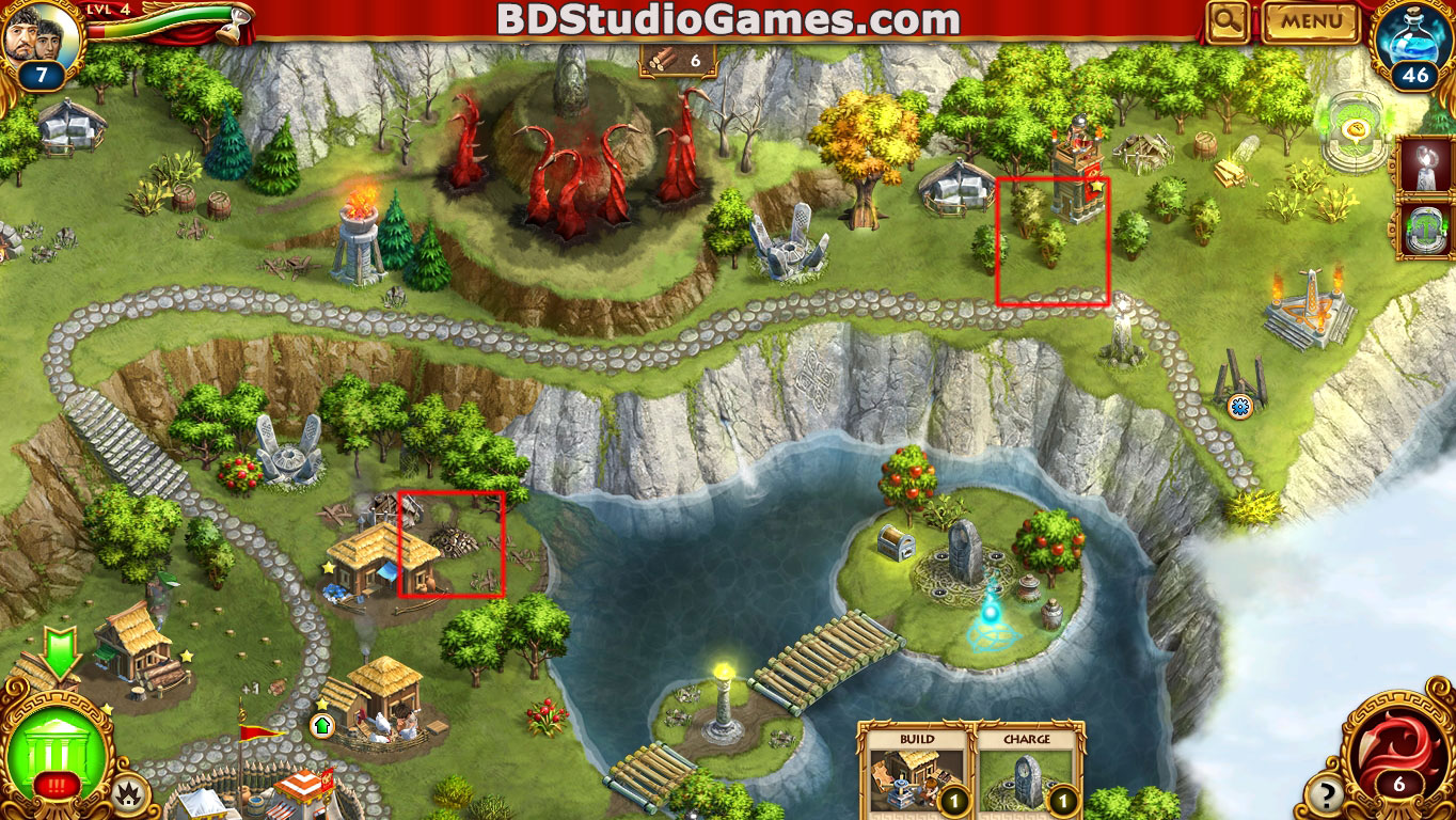 Roman Adventures: Britons Season One Caches Locations Level 4 Screenshots 1