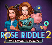 Rose Riddle 2: Werewolf Shadow Walkthrough