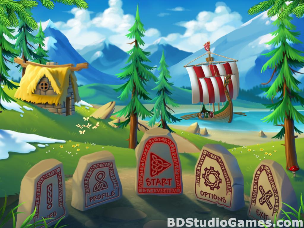 Secrets of the Vikings: Mystery Island Free Download Screenshots 01