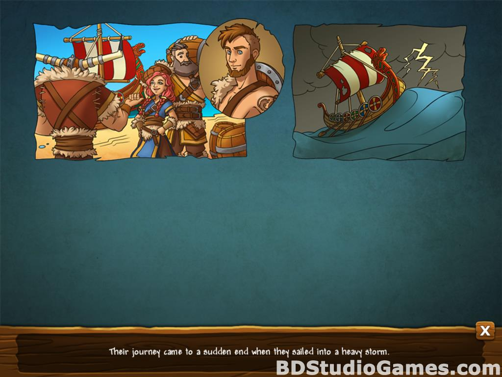 Secrets of the Vikings: Mystery Island Free Download Screenshots 02